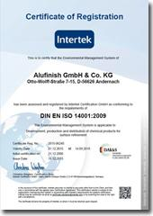 ISO 14001:2009